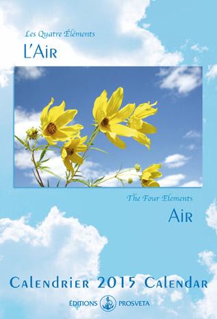 Calendrier 2015 : « Les Quatre Eléments - L'Air »