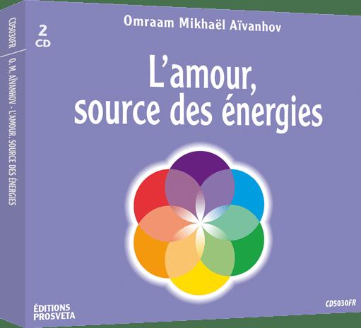 2 CD - L'amour, source des énergies
