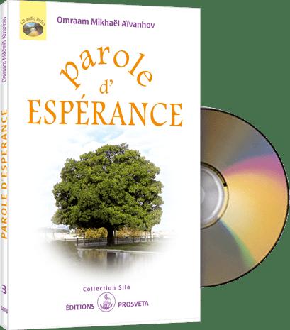 Parole d'Espérance (CD audio et livret)