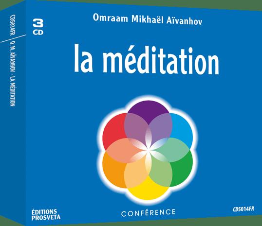 3 CD - La méditation
