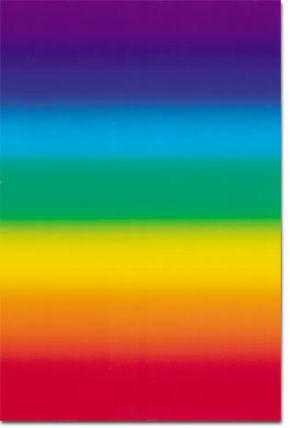 L'Arc-en-ciel - format 68 x 100 cm