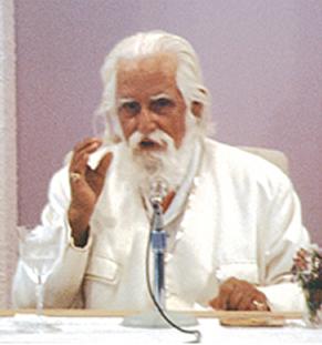 1980er Jahre, während eines Vortrags