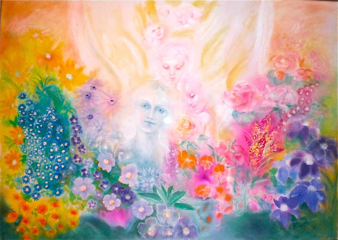 Peinture de Dorothée Servaux